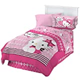 51UdO7mR%2BrL. SL160  Hello Kitty Twin Comforter Set Sweet and Sassy