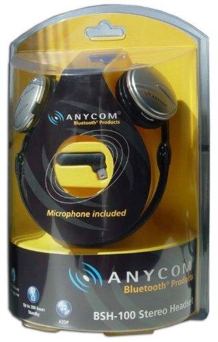 Anycom Inc CC3300-43 Anycom Bluetooth Stereo HDset Plug-n-play Wrls No Driver/sw Anycom Bluetooth Headsets autotags B0007YG86O