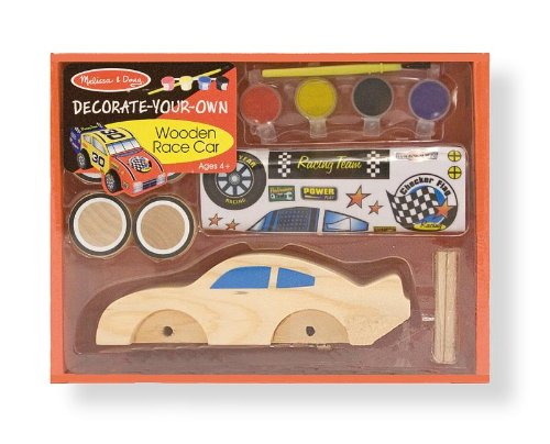 Melissa & Doug Race Car - DYO - 1