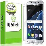 Galaxy S7 Edge Screen Protector, IQ Shield® LiQuidSkin (Updated Design)(Case Friendly) Full Coverage Screen Protector for Samsung Galaxy S7 Edge HD Clear Anti-Bubble Film - with Lifetime Warranty