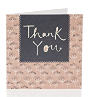 Dandelion Clock Thank You Card