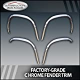 2000-2006 Chevy Tahoe Chrome Fender Trim w/o factory flares