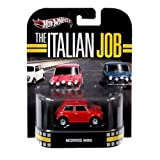 Hot Wheels Retro The Italian Job 1:55 Die Cast Car Morris Mini [Red]