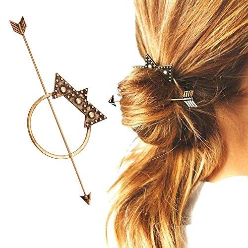 Contever® Boemia Accessori Barrettes Styling Decorazioni per Capelli Clip Pin (Bronzer)