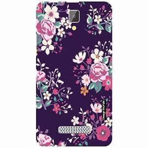 Design Worlds Lenovo A2010 Back Cover - Floral Designer Case and Covers