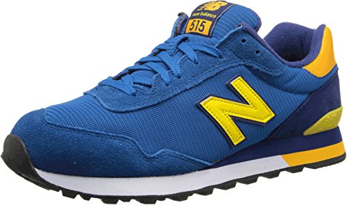 New Balance Men'S Ml515 Classic Running Shoe,Blue/Orange,11 D Us