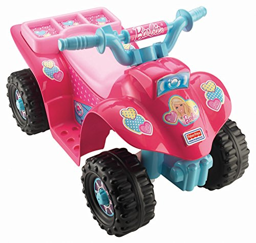 Fisher-Price Power Wheels Barbie Lil` Quad