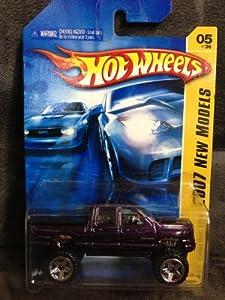 2007 New Models #5 Dodge Ram 1500 #2007-5 Purple Collectible Collector Car Mattel Hot Wheels