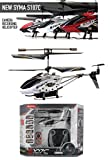 Cozyswan Brand New Syma S107C 3 Channel RC Helicopter With Camera! and Gyroscope Stability Control