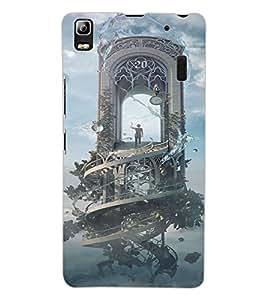 ColourCraft Fantasical Image Design Back Case Cover for LENOVO K3 NOTE