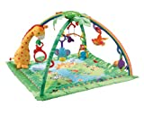 51UdjqZ 0LL. SL160  Fisher Price Rainforest Melodies and Lights Deluxe Gym