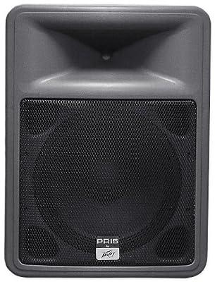 "Brand New Peavey Pr 15 15"" 8 Ohm Two Way Lightweight Portable Pa Speaker w/ Neo Magnet"