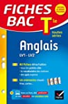 Fiches bac Anglais Tle (LV1 & LV2): f...
