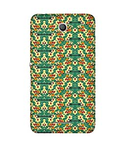Green Base Sony Xperia E4 Case