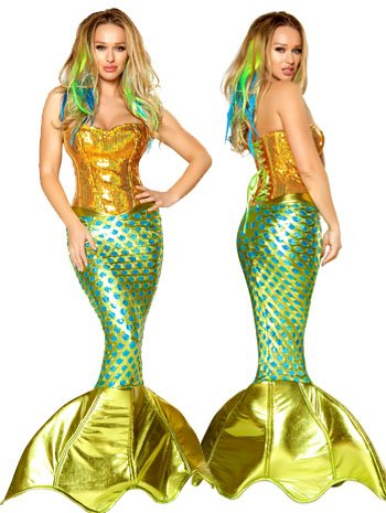 Siren of the Sea Sexy Mermaid Costume - MEDIUM