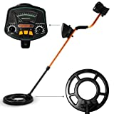 COMFORT Metal detector with extra large search-coil and up to 1.5 meters depth of detection