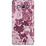 Cover Affair Flowers 3D Printed Back Cover Case For Samsung Galaxy A8