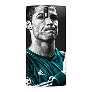 Ajay Enterprises Fill Calm Down Back Case Cover for One Plus One