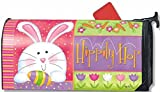 Hippity Hop Easter Large Mailbox Cover Oversized Mailwrap by Magnet Works