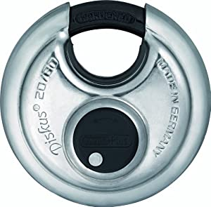 Abus 20/80 KD B 80mm Body Extreme High Security Stainless Steel Disk Padlock