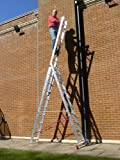 10 Rung TRADE MASTER Combi All-In-One Extension Ladder, Step Ladder & Free Standing Ladders PLUS Step Platform