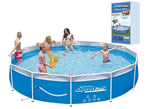 Speedy Pool Set 360 x 80cm mit Filterpumpe