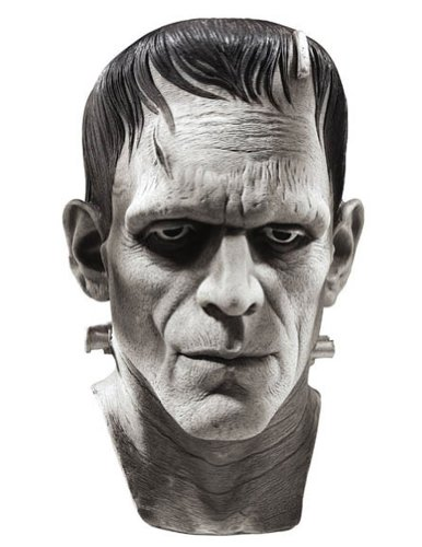 Scary-Masks Frankenstein Mask Halloween Costume - Most Adults