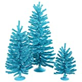 12/18/24 Sky Blue Mini Christmas Tree Set w/ 391T
