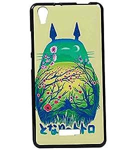 JKOBI(TM) Exclusive Rubberised Back Case Cover For LAVA PIXEL V1-Graphics