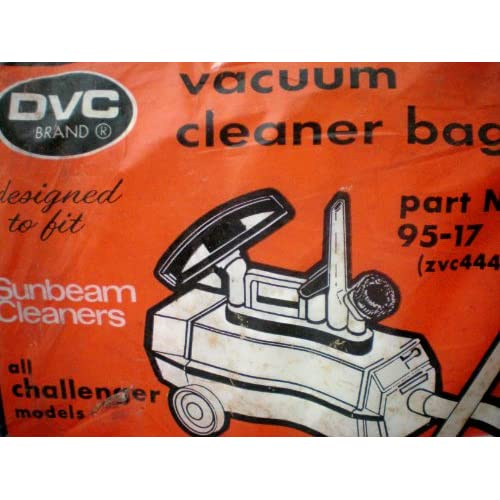 for all Sunbeam Challenger Vacuum Cleaners -- 3 Bags -- New Old Stock