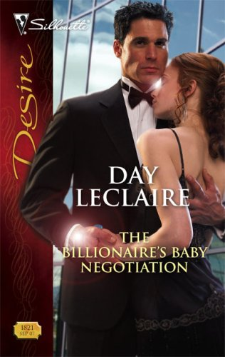 Image of The Billionaire's Baby Negotiation (Silhouette Desire)