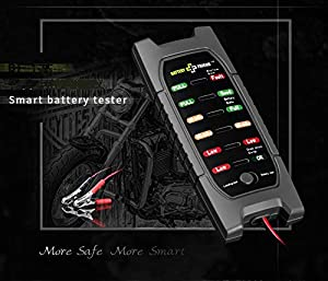 Jayron 12V Battery Tester for Checking and Testing The Battery Capacity, Battery Load Capacity and The Dynamo