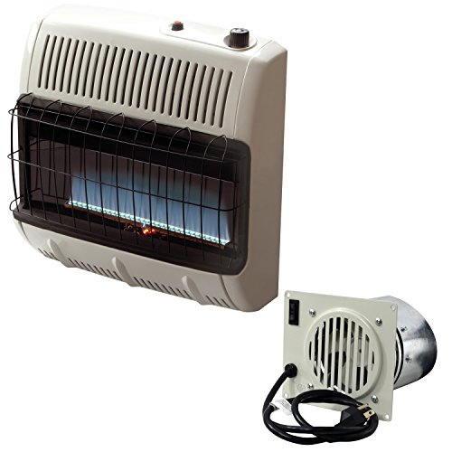 Mr. Heater Vent Free 30,000 BTU Natural Gas + Vent Free Blower Fan Bundle (Wall Mount Gas Heater compare prices)