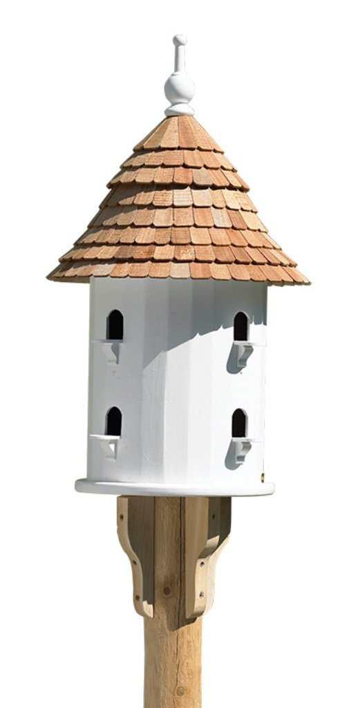 Amazon.com : Lazy Hill Farm Designs 41401 Bird House White Solid ...