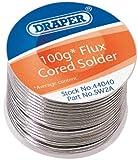 Draper 44040 100 g Reel of K60/40 Tin/Lead Solder Wire