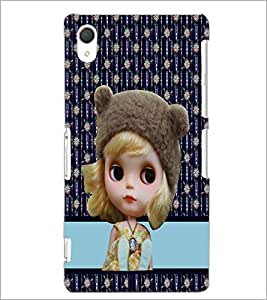 Printdhaba Cute Doll D-3783 Back Case Cover For Sony Xperia Z2