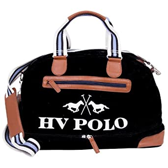hv polo canvas san rafael bag tasche black schwarz amazon. Black Bedroom Furniture Sets. Home Design Ideas