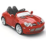 Luxury Premium Grade Mercedes Licensed SLR Kids 12V Electric Ride-on Car Toy with Remote Control