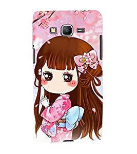 TOUCHNER (TN) Chinees Girl Back Case Cover for Samsung Galaxy Grand Prime G530h