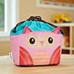Kids' Drawstring Insulated Lunch Bag (Luna the Owl)