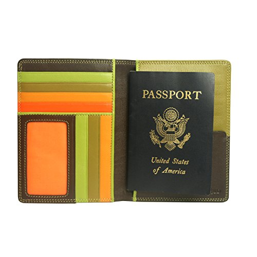 belarno-a236-leather-zip-passport-cover-brown-multicolor