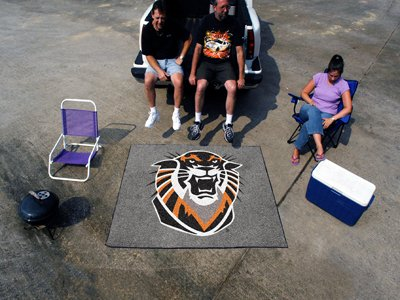 Fort Hays State Tigers NCAA 5' x 6' Indoor / Outdoor Tailgater Area Rug Floor Mat