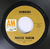 PROCOL HARUM 45 RPM Homburg / Good Captian Clark