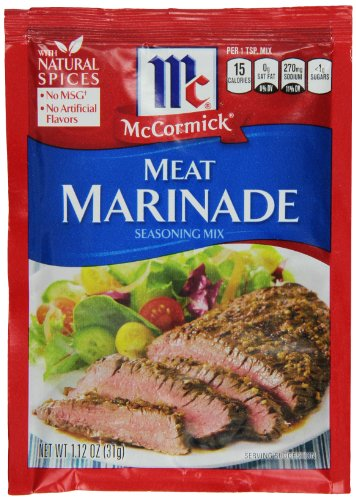 McCormick Meat Marinade - 1.12 oz (Pack of 12) (Subscribe And Save Meat compare prices)