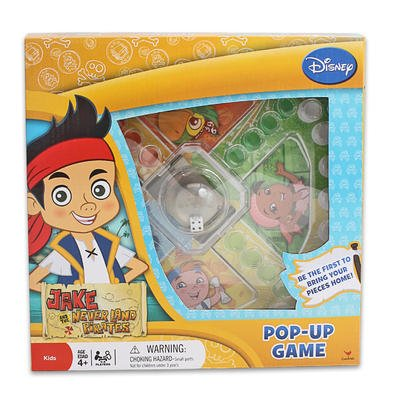 Jake and the Neverland Pirates Pop-up Game