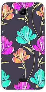 SEI HEI KI Designer Back Cover For Huawei Honor Bee - Multicolor