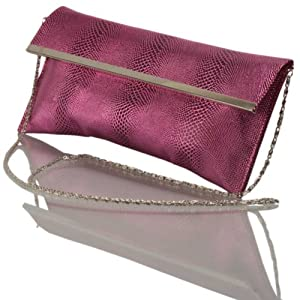 Calvino Women Clutches Sling Bags 7043 Plum