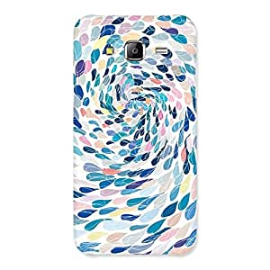 Enticing Rounding Design Back Case Cover for Samsung Galaxy J5