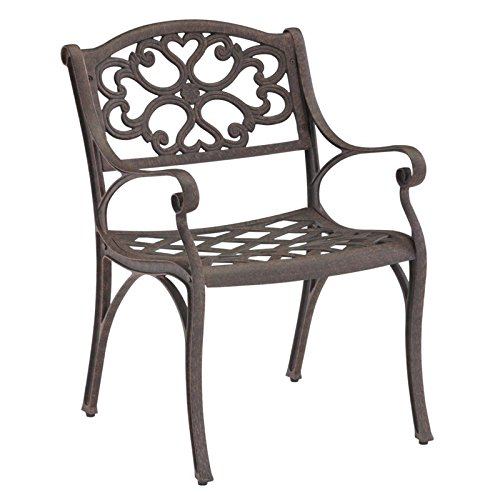 Home styles 5555-802 Arm Chair Rust Brown Finish 2Pack