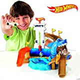 Hot Wheels - Pista Tiburón Devorador (Mattel)